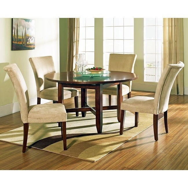 Avenue Round Dining Room Set W 54 Inch Table Steve Silver