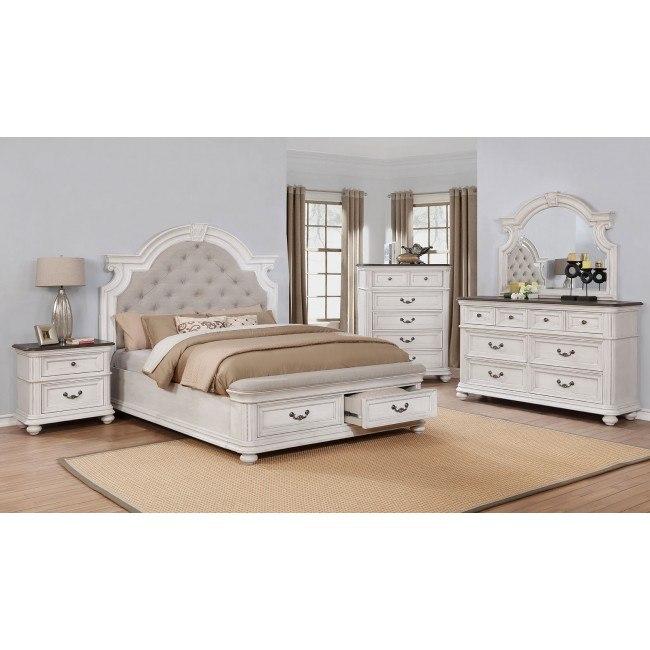 West Chester Storage Bedroom Set