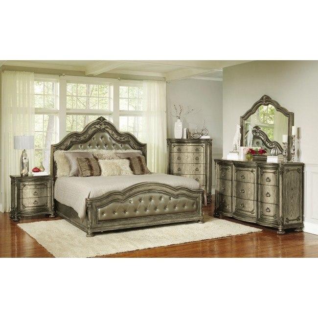 Seville Panel Bedroom Set
