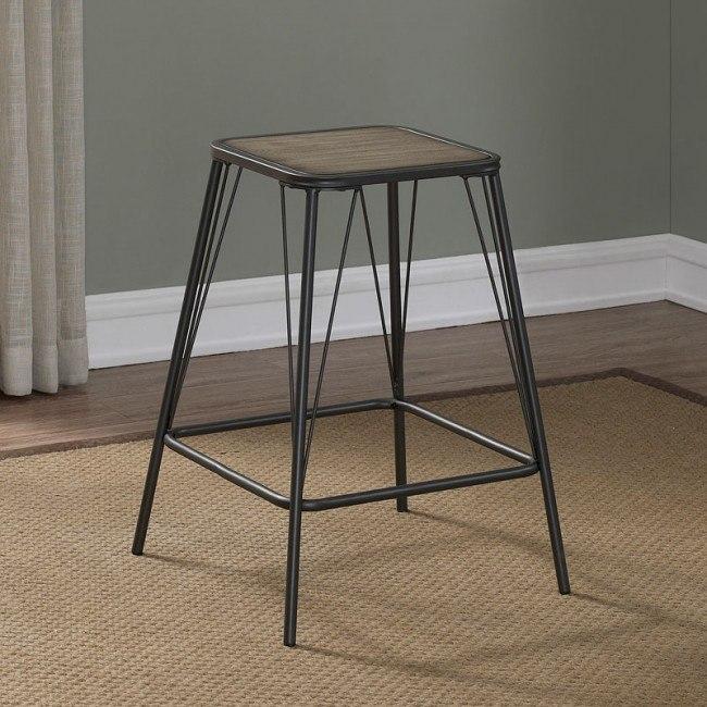 Stupendous B1 107 24 Inch Metal Backless Stool Creativecarmelina Interior Chair Design Creativecarmelinacom