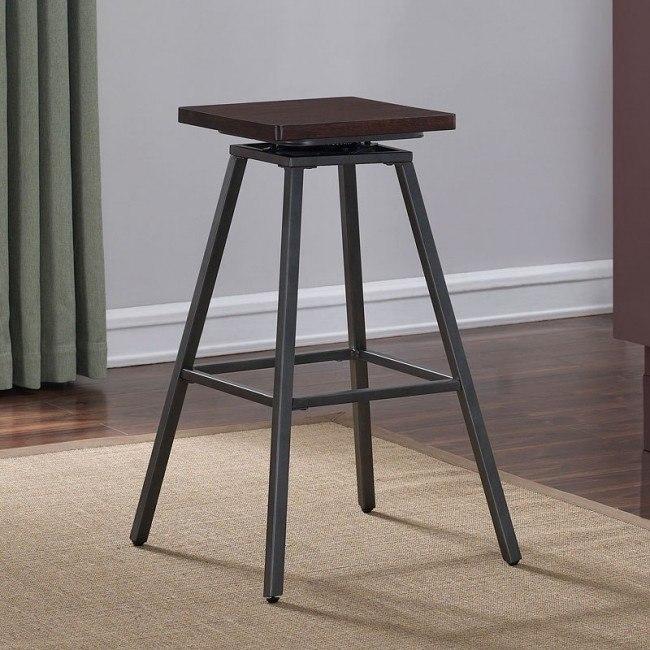 Amazing Cherry Wood Backless Bar Stool Short Links Chair Design For Home Short Linksinfo
