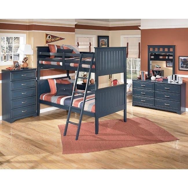 Leo Bunk Bedroom Set Signature Design Furniture Cart