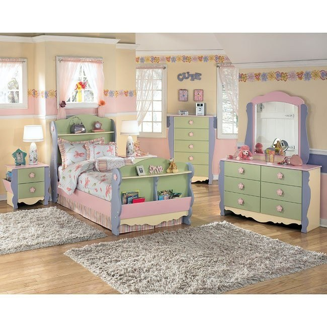 Doll House Sleigh Bedroom Set