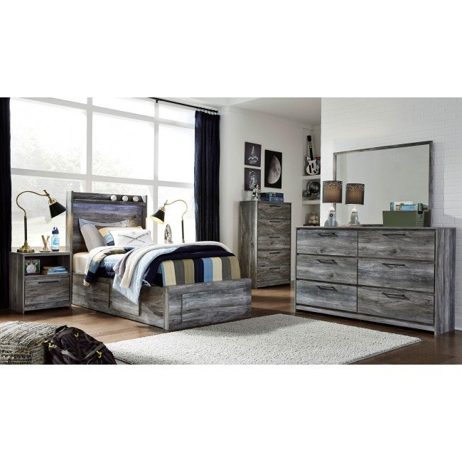 Baystorm Full Size Storage Bed B221: Baystorm Youth Two Sided Storage Bedroom Set Signature