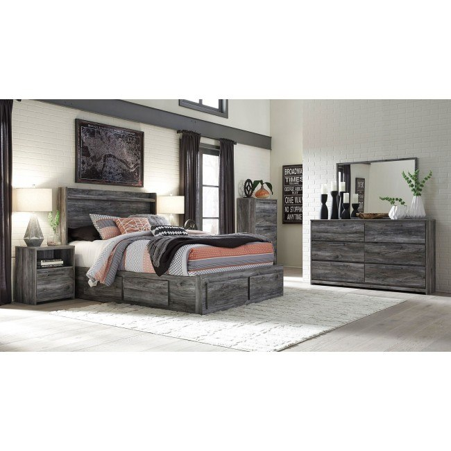 Baystorm Two Sided Storage Bedroom Set