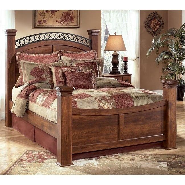 Timberline Poster Bed Signature Design Furniture Cart