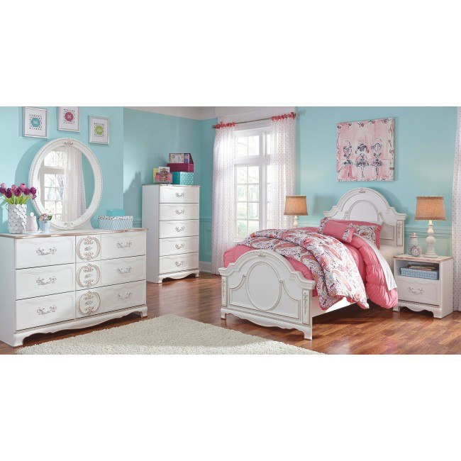 Korabella Panel Bedroom Set Signature Design Furniture Cart
