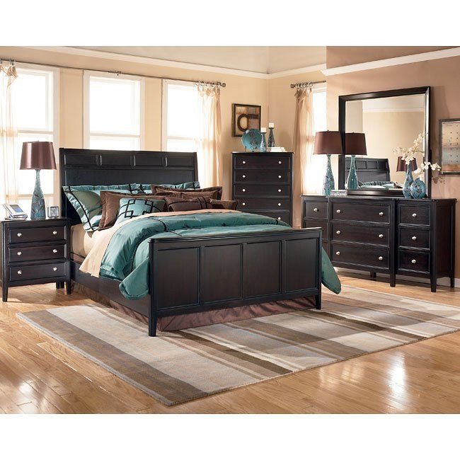 Carlyle Panel Bedroom Set Signature Design By Ashley Furniture Cart