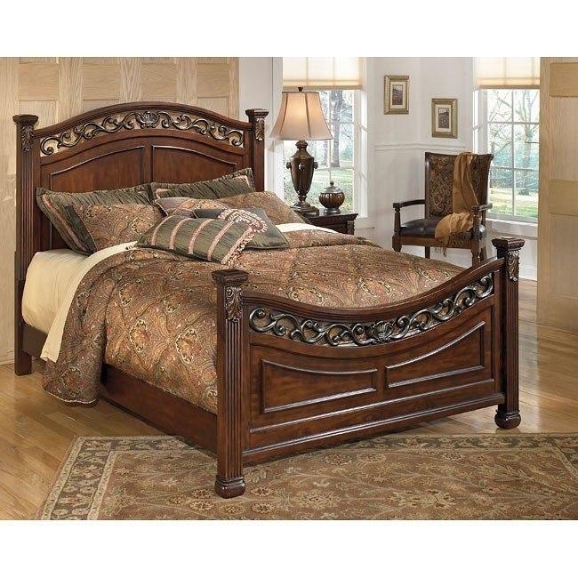Leahlyn Panel Bed Signature Design Furniture Cart