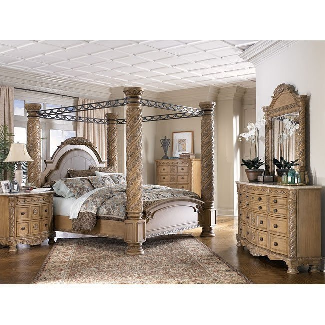 South Coast Poster Canopy Bedroom Set Millennium Furniture Cart