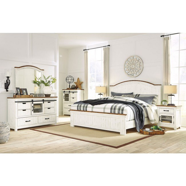 Wystfield Panel Bedroom Set Signature Design By Ashley Furniture Cart
