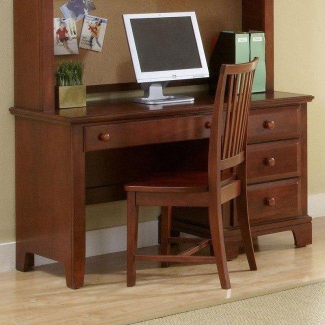 Hamilton Franklin Computer Desk (Cherry) Vaughan Bassett