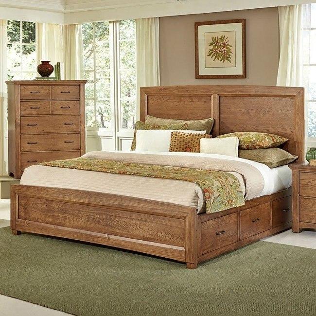 Transitions Bed w/ One Storage (Dark Oak)