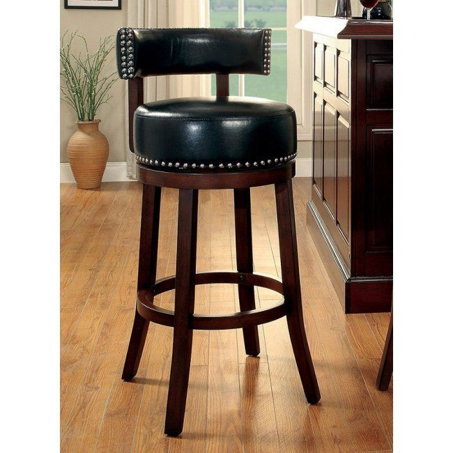 Marvelous Shirley 30 Inch Swivel Bar Stool Black Set Of 2 Pabps2019 Chair Design Images Pabps2019Com