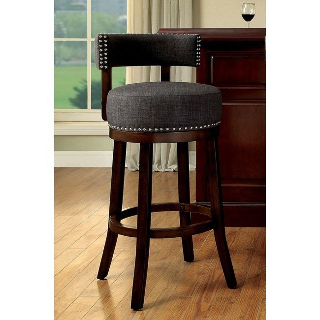 Awesome Lynsey 30 Inch Swivel Bar Stool Gray Set Of 2 Inzonedesignstudio Interior Chair Design Inzonedesignstudiocom
