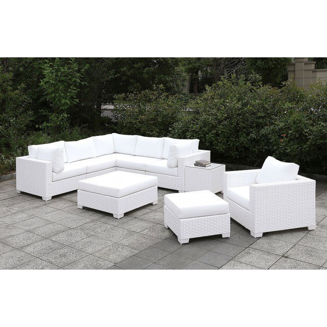 Astonishing Somani White Outdoor L Sectional Set Configuration 18 Unemploymentrelief Wooden Chair Designs For Living Room Unemploymentrelieforg