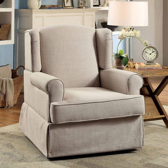 Terrific Marlena Swivel Glider And Rocker Chair Beige Caraccident5 Cool Chair Designs And Ideas Caraccident5Info