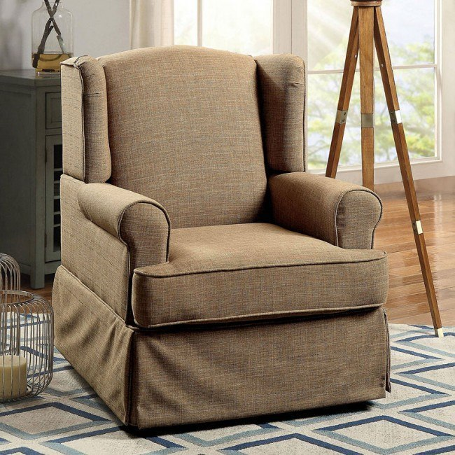Marvelous Marlena Swivel Glider And Rocker Chair Brown Caraccident5 Cool Chair Designs And Ideas Caraccident5Info