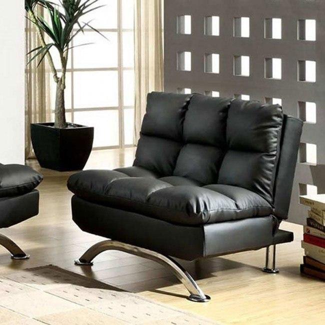 Aristo Chair Black Furniture Of America Furniture Cart