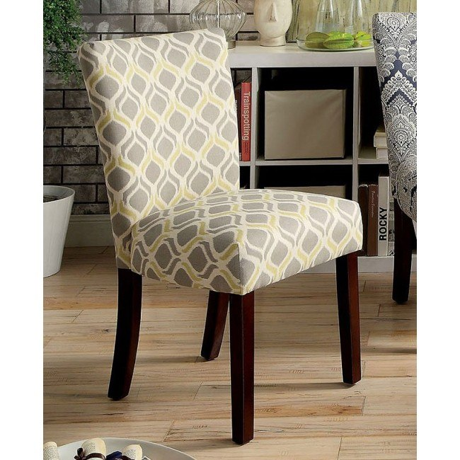 Superb Prue Yellow And Gray Accent Chair Set Of 2 Pdpeps Interior Chair Design Pdpepsorg