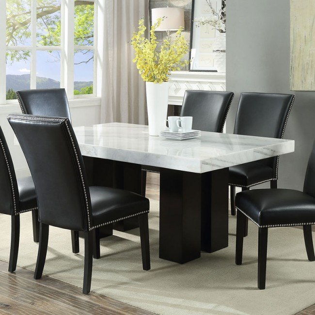 Camila Rectangular Dining Table Steve Silver Furniture Furniture Cart