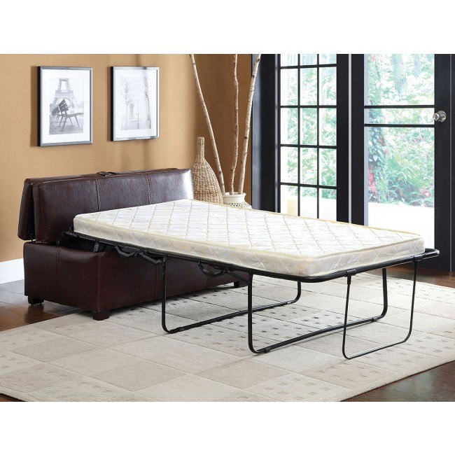 Fantastic Appoline Ottoman W Pull Out Bed Brown Alphanode Cool Chair Designs And Ideas Alphanodeonline