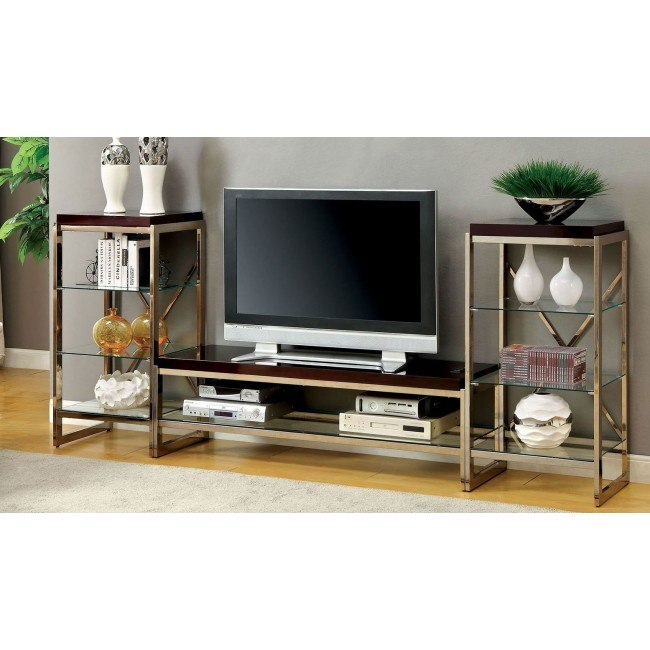 Brisa Entertainment Center Gold