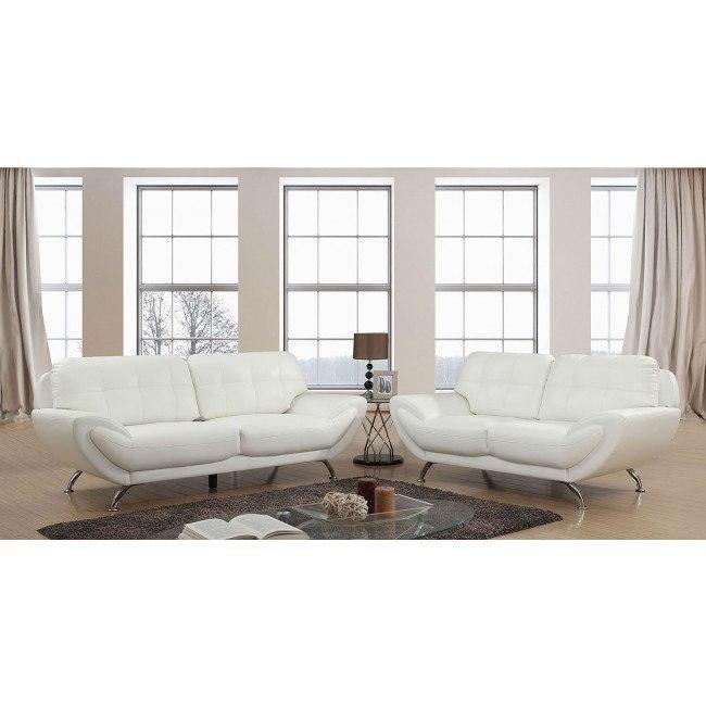 Reanna Living Room Set (White)