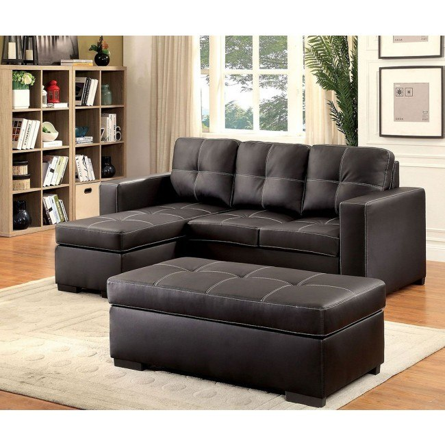 Pleasant Valter Sectional W Ottoman Gmtry Best Dining Table And Chair Ideas Images Gmtryco