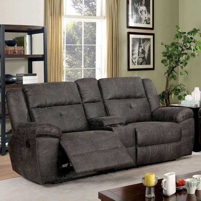 Astonishing Chichester Reclining Loveseat W Console Ocoug Best Dining Table And Chair Ideas Images Ocougorg