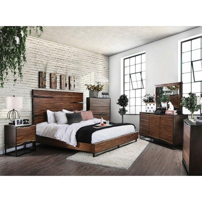 Fulton Panel Bedroom Set Furniture Of America Furniture Cart