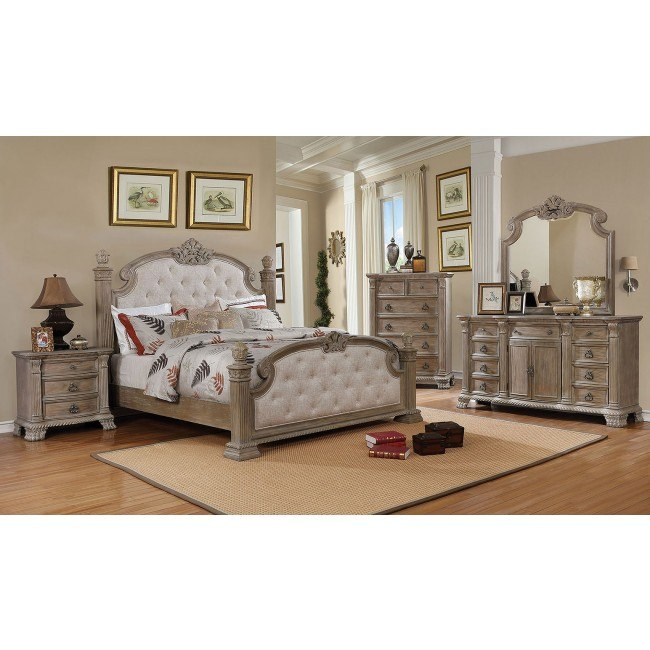 Montgomery Poster Bedroom Set Furniture Of America Furniture Cart