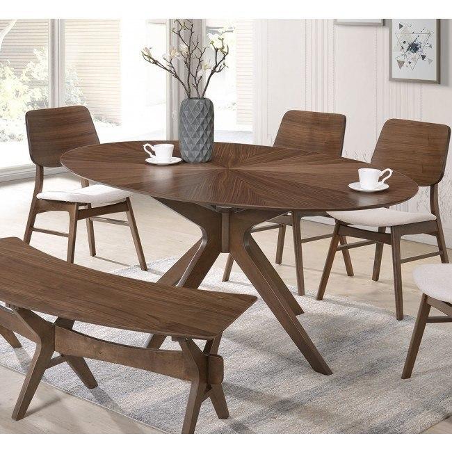 Oscar Oval Dining Table New Clic