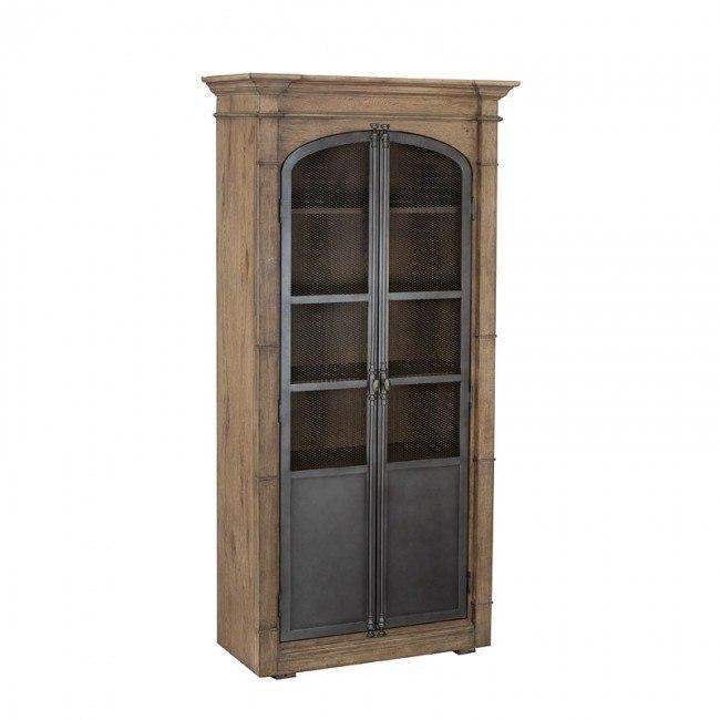 Authentic Metal Door Display Cabinet