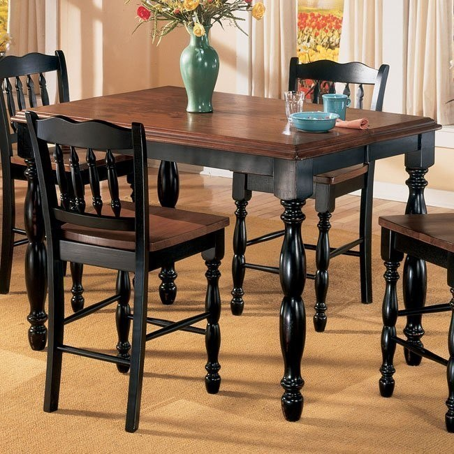 Cedar Heights Butterfly Leaf Counter Height Table