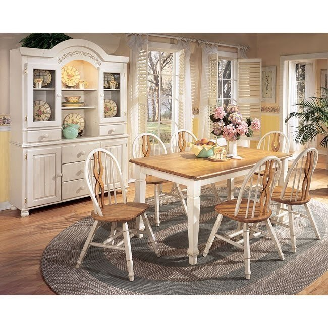 Cottage Retreat Dining Room Set with 2 Chair Types