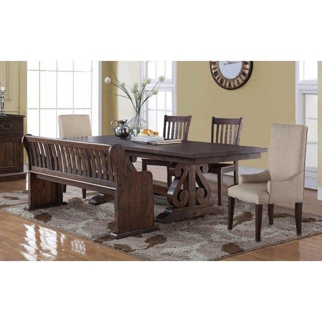 Astonishing San Juan Dining Room Set W Chair Choices Cjindustries Chair Design For Home Cjindustriesco