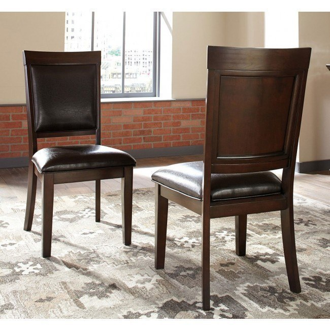 Shadyn Side Chair Set Of 2 Signature Design Furniture Cart