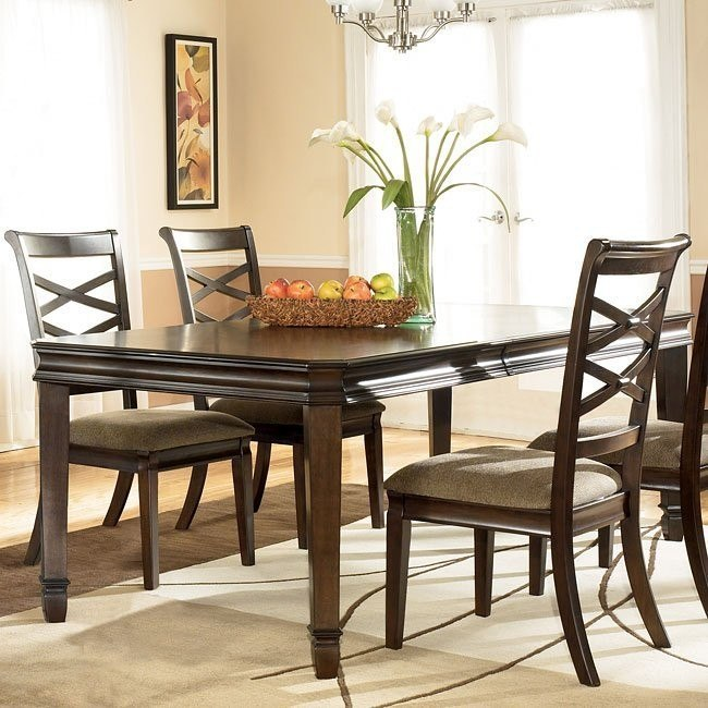 Hayley Dining Room Set: Hayley Rectangular Extension Table Signature Design By