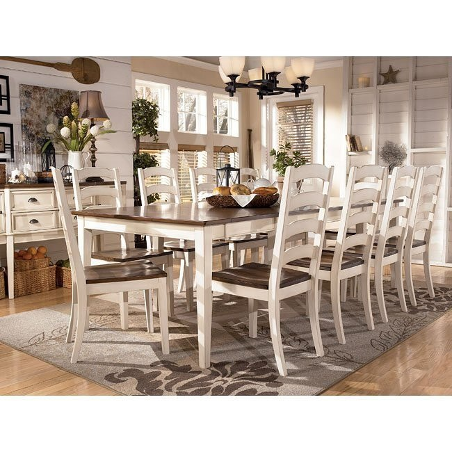 Whitesburg Formal Dining Room Set w/ 2 Chair Choices