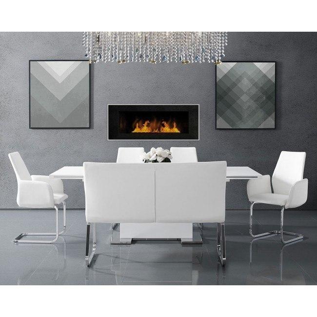 Estella Rectangular Dining Room Set W Settee Elements Furniture Furniture Cart
