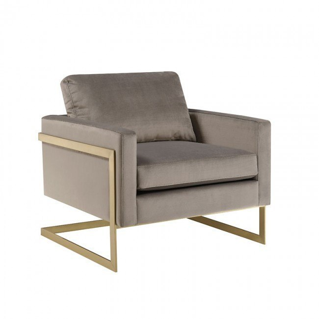 Phenomenal City Chic Gold Frame Accent Chair Gmtry Best Dining Table And Chair Ideas Images Gmtryco