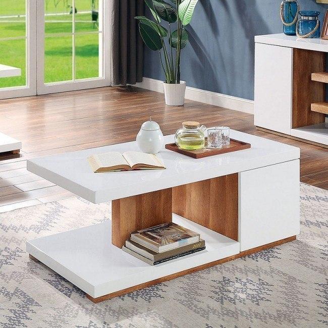 Moa Coffee Table Furniture Of America Furniture Cart