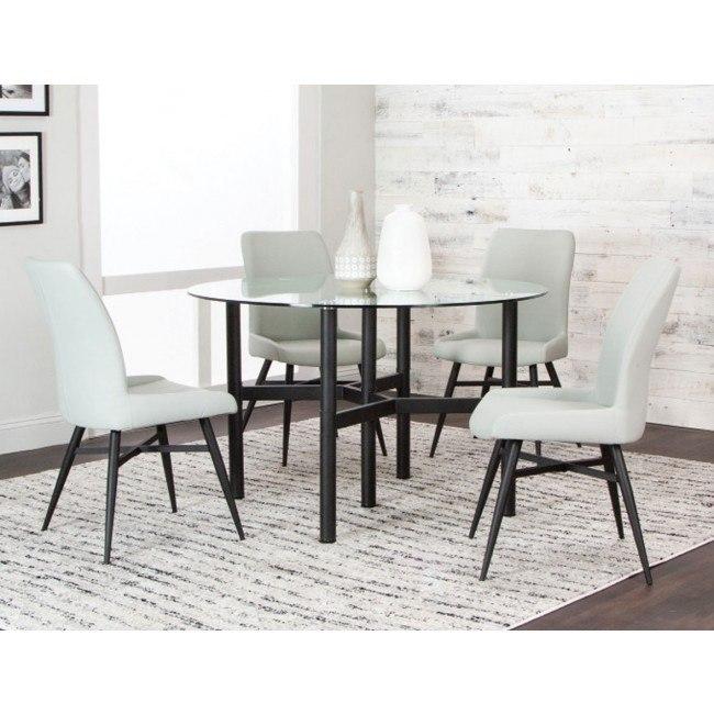 Astounding Lemans Round Dining Room Set Pdpeps Interior Chair Design Pdpepsorg