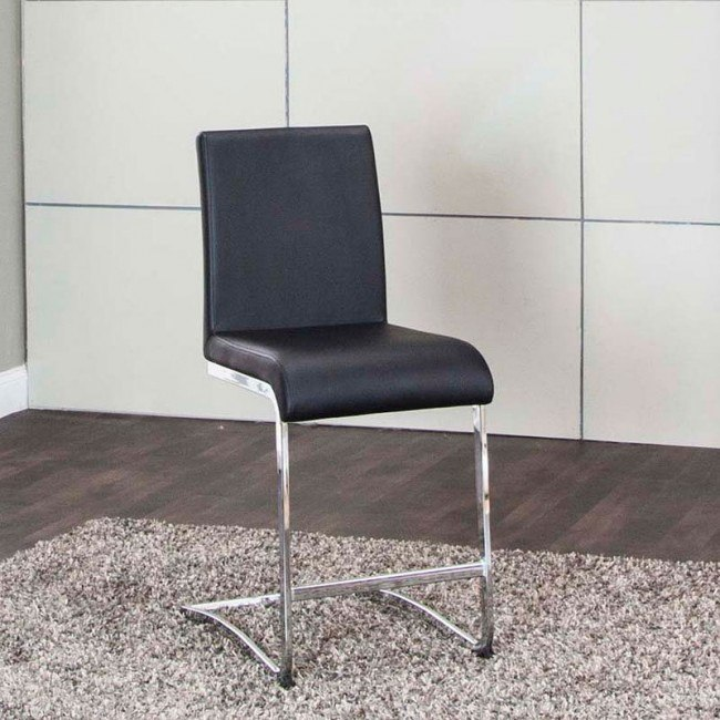 Wondrous Viva Black 24 Inch Counter Stool Set Of 2 Caraccident5 Cool Chair Designs And Ideas Caraccident5Info