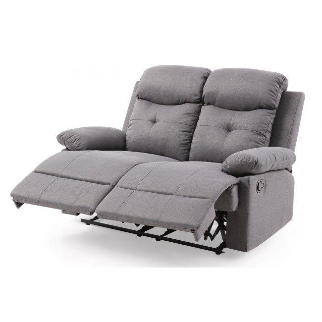 Awe Inspiring Stadium Reclining Loveseat Gray Creativecarmelina Interior Chair Design Creativecarmelinacom