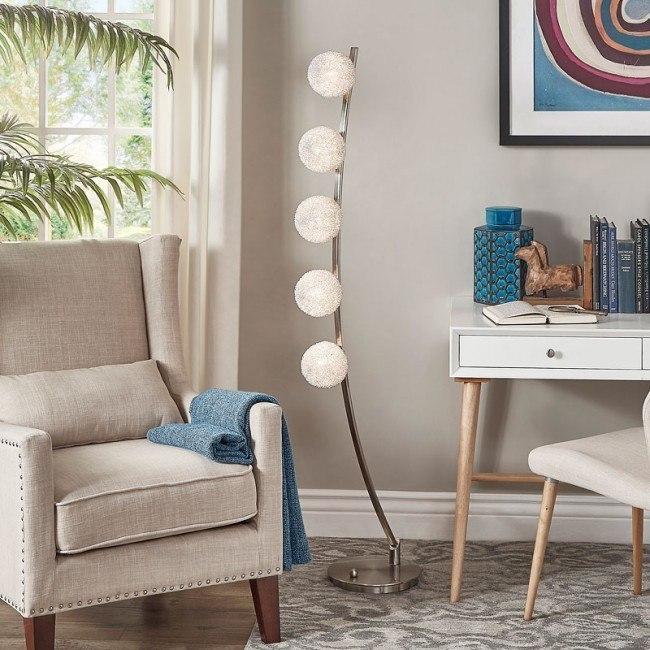 Wondrous Inara Floor Lamp Theyellowbook Wood Chair Design Ideas Theyellowbookinfo