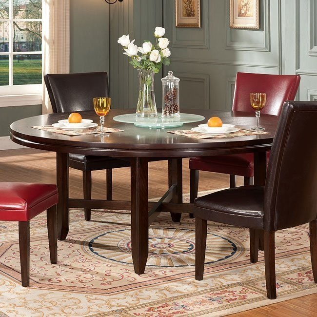 Hartford 72 Inch Round Dining Table