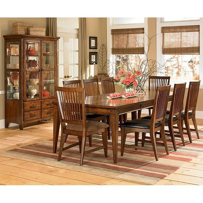 Hillsboro Formal Dining Room Set w/ 2 Chair Choices