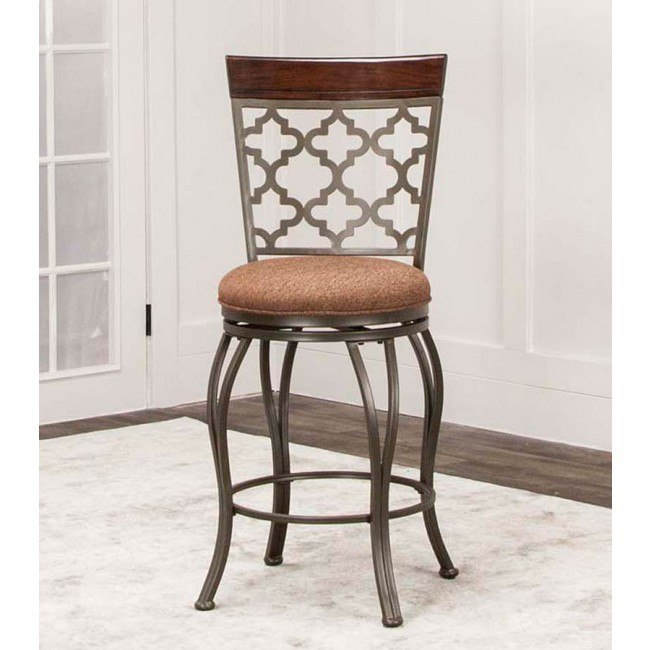 Admirable Cutlass 24 Inch Swivel Counter Height Stool Squirreltailoven Fun Painted Chair Ideas Images Squirreltailovenorg